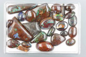 Lot Loose Boulder Opals Total Approx. 180 Ct,