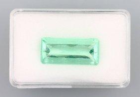 Fluorit Baguette, Approx. 28.61 Ct, Approx. 12x 27 Mm