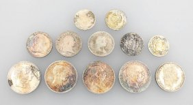 Lot 12 Silver Coins