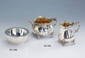Milk Jug And Sugar Bowl, German Approx. 1900s