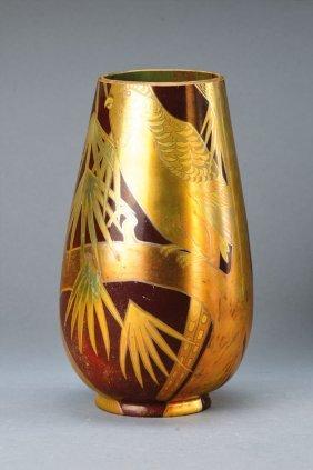 Art Nouveau Vase, Zsolnay