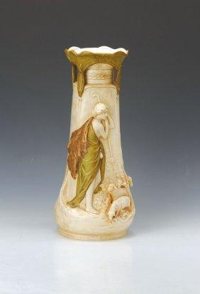 Large Vase, Royal Dux Bohemia