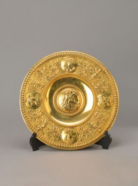 Large Historism Plate, German