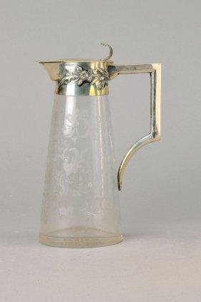 Glass Pitcher, German