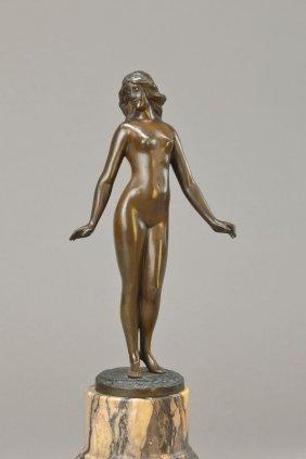Bronze Sculpture, Signed Loewenich