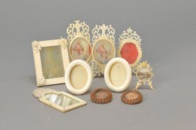 12 Miniatures-frame Of Ivory