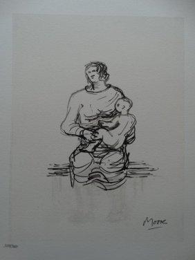 Henry Moore, 1983