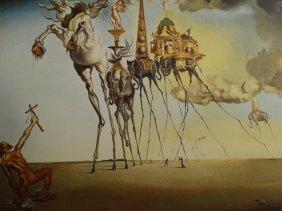 Salvador Dali, 1988