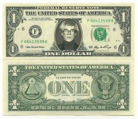 Andy Warhol 1 Dollar