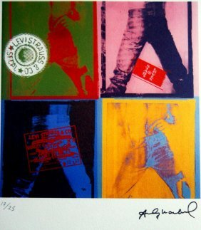 Andy Warhol - Lithograph - Paper Bfk. Signed And Number