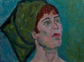 Helen Director (1919-2006), American. Oil On Canvas