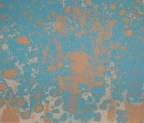 Kaji Aso (1936-2006), Japanese. Color Etching, Signed.