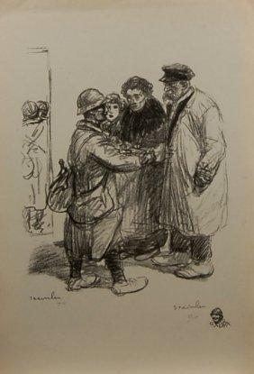 Theophile Alexandre Steinlen (1859-1923) Swiss.