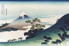 Hokusai - Inumi Pass In The Kai Province, 1830