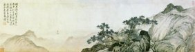 T'ang Yin - Dreaming Of Immortality In A Thatched