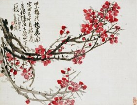 Wu Changshuo - Plum Blossoms