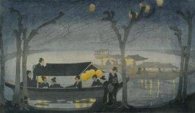 Bertha Lum - On The River, 1913