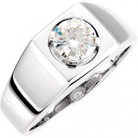 Men's Forever Classica Moissanite Ring