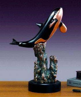 Bronze Orca (killer Whale)