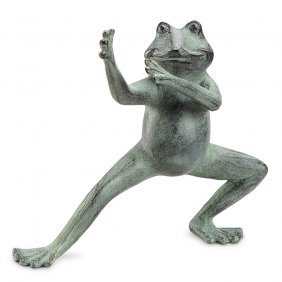 Flexing Tai Chi Frog