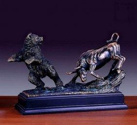 Bronze Bull & Bear
