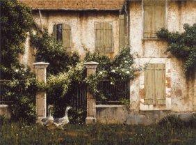 George Hallmark - Full Image - Nosey Neighbors
