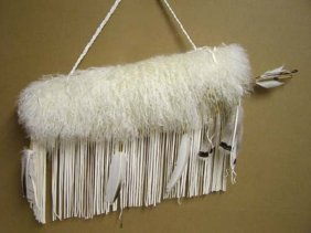 Native American Cherokee Made Tibetan Lamb Quiver With
