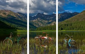 Todd Van Fleet - Piney Lake Triptych