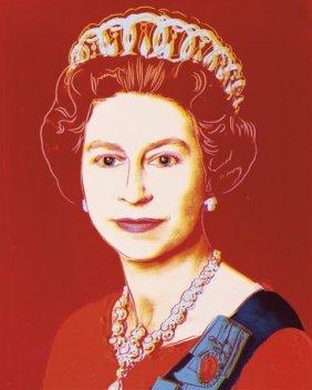 Andy Warhol. Reigning Queens: Queen Elizabeth Ii Of