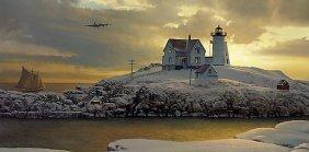 William S. Phillips - Cape Neddick Dawn