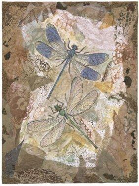 Annabel Hewitt. Honeycomb Dragonflies