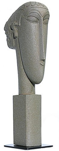 Abstract Head Statue (1911 - 1912) After Modigliani