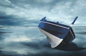 Carlos Casamayor. The Solitude Of The Sea In Blue