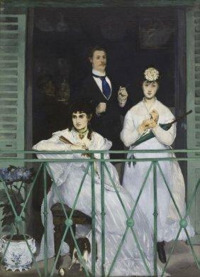 Edouard Manet. The Balcony, 1868