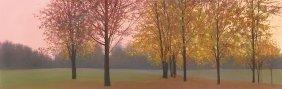 Elissa Gore. Autumn Dawn, Maples