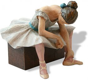 L'attente The Waiting Ballerina Statue (1882) After
