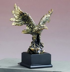 Bronze Antique Gold Eagle