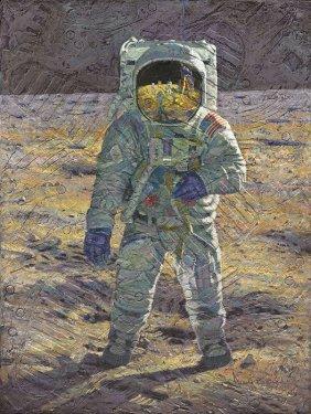 """Alan Bean - First Men: Edwin E. """"buzz"""" Aldrin"""
