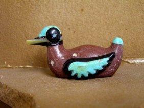 Navajo Carved Duck Fetish