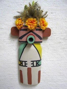 Old Style Hopi Carved Velvet Shirt Traditional Katsina