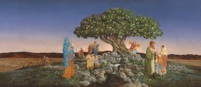 James C. Christensen - Desirable Above All Other Fruit