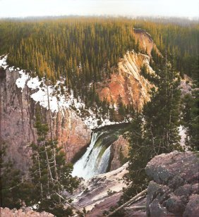 Bruce Cheever - The Brink, Yellowstone Canyon