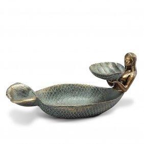 Mermaid And Shell Ring / Soap Dish