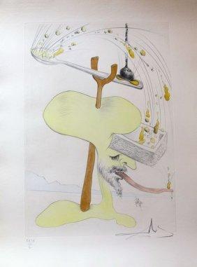 Dali, Salvador - Hand Signed Lithograph