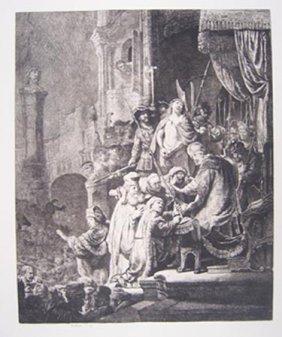 Rembrandt - Etching