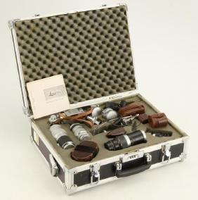 Leica 111g Camera , (7) Leica Lenses & Accessories