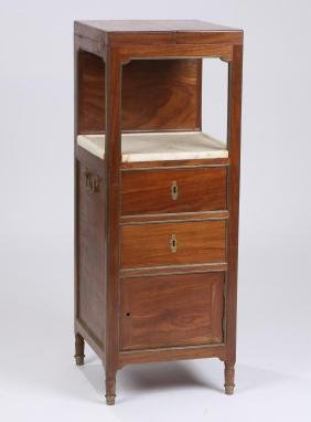 French Directaire Traveling Dressing Table