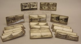 Collection Of Eighteen Stereo View Cards