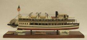"Steamboat Model ""Steamboat Merrimac"""