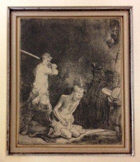 Rembrandt Van Rijn, Netherlands (1606-1669)
